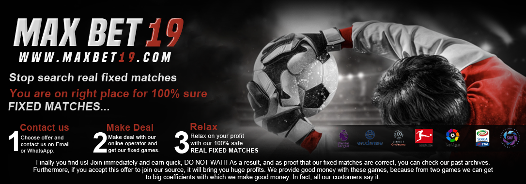 Real fixed matches 1x2 and vip tickets